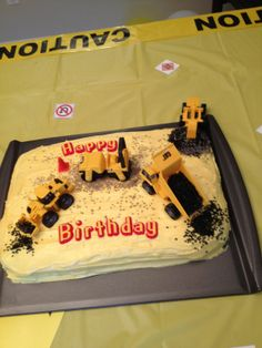 Construction Dump Truck Birthday Party