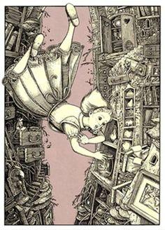 T. Tomic Alice aux pays des merveilles --- Alice in Wonderland --- Alicia en el País de las Maravillas --- Alice im Wunderland