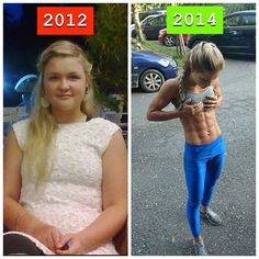 19 year old German bikini competitor Sophia Thiel killed it in 2 years!