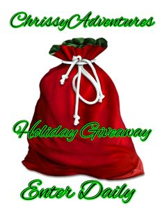 ChrissyAdventures Christmas Giveaway