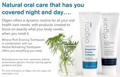 Home - Olgani Naturals Beautiful Teeth, Pasta, Day For Night, Medicinal Plants, Oral Health, To Focus, Dental Care, Herbalism, Personal Care