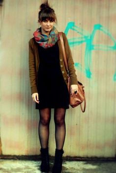 15 Cool Dress And Boots Combinations For Fall | Styleoholic