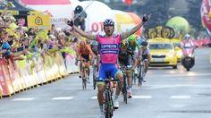 L'Italien Diego Ulissi (Lampre) a remporté la première étape du 70e Tour de Pologne qui s'est déroulée entre Rovereto et Madonna di Campiglio, en Italie, alors que les deux favoris, l'Italien Vincenzo Nibali et le Britannique Bradley Wiggins, ont été distancés.