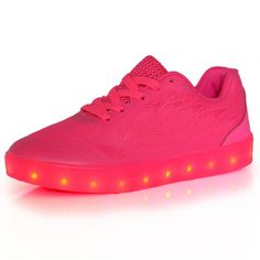 Luminous Shoes Pink Candy Colors