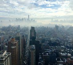 市, 新しい, ニューヨーク, アメリカ合衆国, アメリカ, ビュー, パノラマ, 空気, 上, 高, 展望台