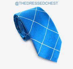Windowpane tie