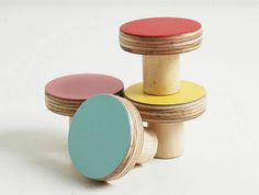 wooden furniture knobs by chocolate creative home accessories | notonthehighstreet.com
