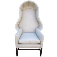 Wonderful Hooded Chair | From a unique collection of antique and modern wingback chairs at http://www.1stdibs.com/furniture/seating/wingback-chairs/