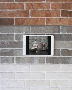 Τουβλάκι για επένδυση τοίχου σε 3 αποχρώσεις στα 13.80 ευρώ/μ2⠀ #As_spiliotopoulos #yournewhome Polaroid, Polaroid Camera
