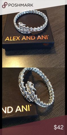 🆕Alex & Ani Gypsy Wrap, Shiny Silver, NWOT Alex & Ani shiny silver finish Gypsy Wrap Bracelet. Authentic, comes with box. New without tags. Alex & Ani Jewelry Bracelets