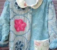 Image Detail for - Sweet Vintage Chenille Jackets made from Vintage Chenille and hand ...