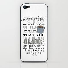 One Direction: Little Things iPhone & iPod Skin by MaFleur - $15.00