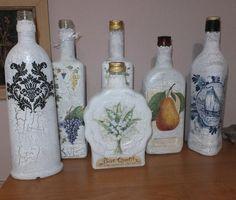 Fotoblog užívateľky lambr | Modrastrecha.sk Bottle Art, Glass, Painting, Ideas, Home Decor, Bottles, Decoration Home, Drinkware, Room Decor