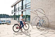 Fahrradgarage Cerpan Classic | Cerpan | Fahrradgaragen | Die Edelstahl Fahrradgarage von Cervotec