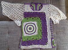 Häkelfieber: Shirt in Frühlingsfarben