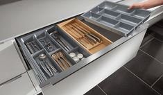 Kube has a huge selection of internal storage solutions to suit your specific requirements. From cutlery inserts to corner solutions and clever pull out storage units to recycling bins – you will be spoilt for choice. Wardrobe Furniture, Recycling Bins, Kitchen Accessories, Storage Solutions, Kitchens, Home, Central Island, Stuff Stuff, Kitchen Fixtures