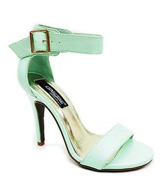 Loving this Mint Jaily Sandal on #zulily! #zulilyfinds