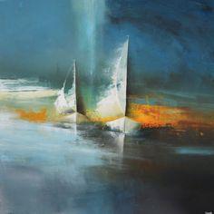 L'oeuvre unique et originale Dreamboats a été réalisée par l'artiste Jonas Lundh, qui conçoit des peintures à l'acrylique très profondes, pleines de sens, représentant des bateaux, des bols de rêves ou encore des maisons, toujours...