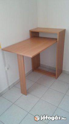 Lehajtható kisasztal