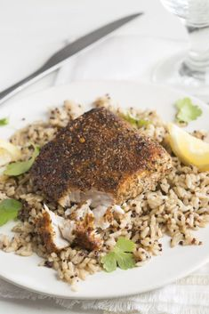 This easy & healthy Mahi Mahi with blackened seasoning is tender, flaky, and flavorful; everyone loves it!!!!