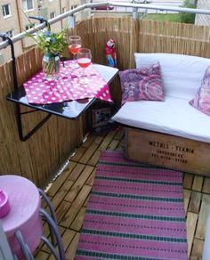 18 ideas geniales para decorar tu pequeño balcón o terraza este verano — cribeo