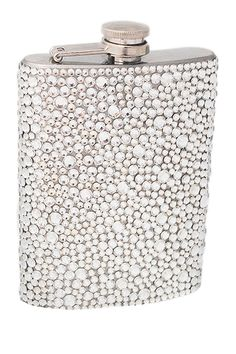 Silver rhinestone flasks would make for fab bridesmaids gifts!