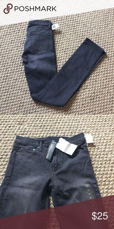 Grayish black skinny jeans GAP nwt Brand new GAP Jeans Skinny
