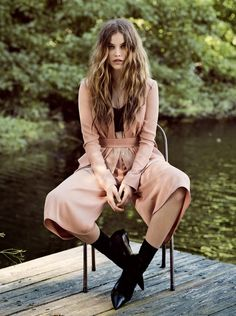 Dreaming of Dior: Barbara Palvin by Derek Henderson for Vogue Australia June 2015