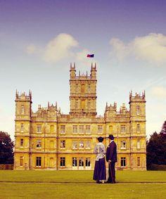Mary & Robert at Downton Abbey