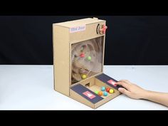 How to make Amazing Game PACMAN 2 from Cardboard - [No.9] Amazing Game from Cardboard - YouTube