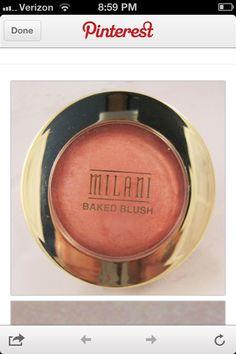 "Great dupe for Nars ""Orgasm"" blush. Milani ""Luminoso"" <3"