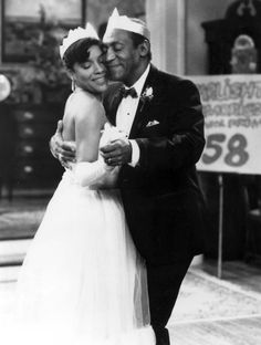Phylicia Rashad & Bill Cosby as Cliff & Claire Huxtable