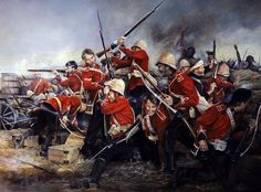 Defending the wall, Rorkes Drift