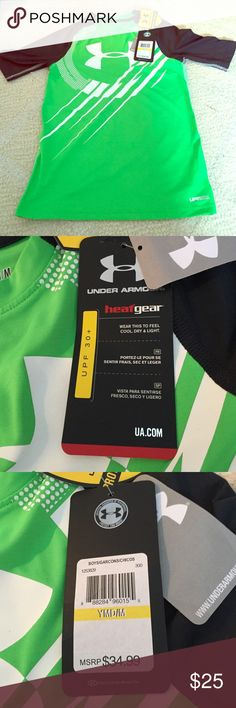 🎉NWT🎉 Under Armour heat gear shirt Brand new with tags with upf 30+ under Armour heat gear helps to feel cool, dry, and light Under Armour Shirts & Tops Tees - Short Sleeve