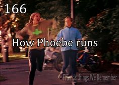 Friends Things We Remember: how Phoebe runs