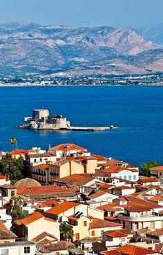 Отдых в Греции: Bourtzi castle, Nafplion, Greece