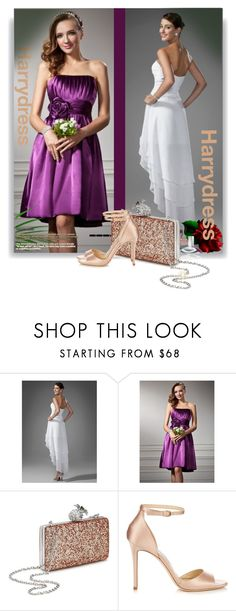 """""""Harry Dress"""" by manuela-cdl ❤ liked on Polyvore featuring Miss Selfridge, Jimmy Choo, Calvin Klein and harrydress"""