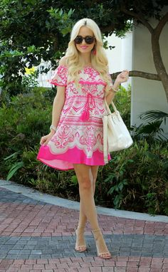A Spoonful of Style: Pink Party Dress...