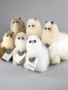 Alpaca Products & Gifts - Browse our collection of sustainable and eco-friendly alpaca specialties including the fluffiest alpaca stuffed animals in the world! Cute Alpaca, Llama Alpaca, Alpacas, Llama Decor, Alpaca Stuffed Animal, Llama Arts, Funny Animals, Cute Animals, Alpaca Gifts