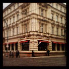 Kavarna Slavia, Prague the best goulash