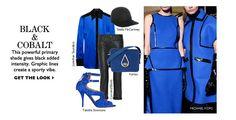 Cobalt + blue @NET-A-PORTER.COM