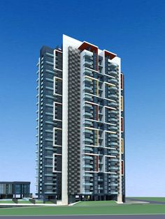 Architecture 285 High Rise Residential Building 3D Model