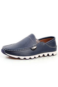 ZNPNXN Leather Men Flat Shoes Casual Loafers (Blue) | ราคา: ฿1,077.74 | Brand: ZNPNXN | See info: http://www.topsellershoes.com/product/71044/znpnxn-leather-men-flat-shoes-casual-loafers-blue