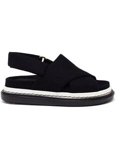 Marni Felt Fussabett Sandals