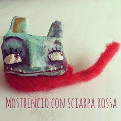 DILISA Handmade.  Mostrincio in cartapesta.