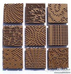 cardboard relief