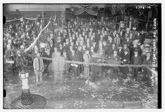 Xmas on Consolidated Exchange (LOC) New York's Consolidated Stock Exchange was a rival to the dominant New York Stock Exchange from Consolidated's founding in 1885 to its demise in 1926.