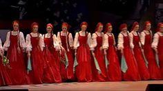 "Ensemble Beryozka dance ""the Chain"" and ""the Birch Tree""...Russian Dance"