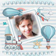 Montajes de Fotos de Sellos para Niños. #infantiles #fotomontajesgratis #fotoefectosinfantiles #sellos #montajesonlinegratis