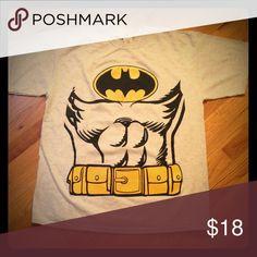 Mens HALLOWEEN Batman Tee T-Shirt by Rubie's Sz XL Mens Batman Tee T-Shirt by Rubie's Sz XL     Perfect when you need a quick little effort Costume or just want a fun shirt Rubie's Shirts Tees - Short Sleeve